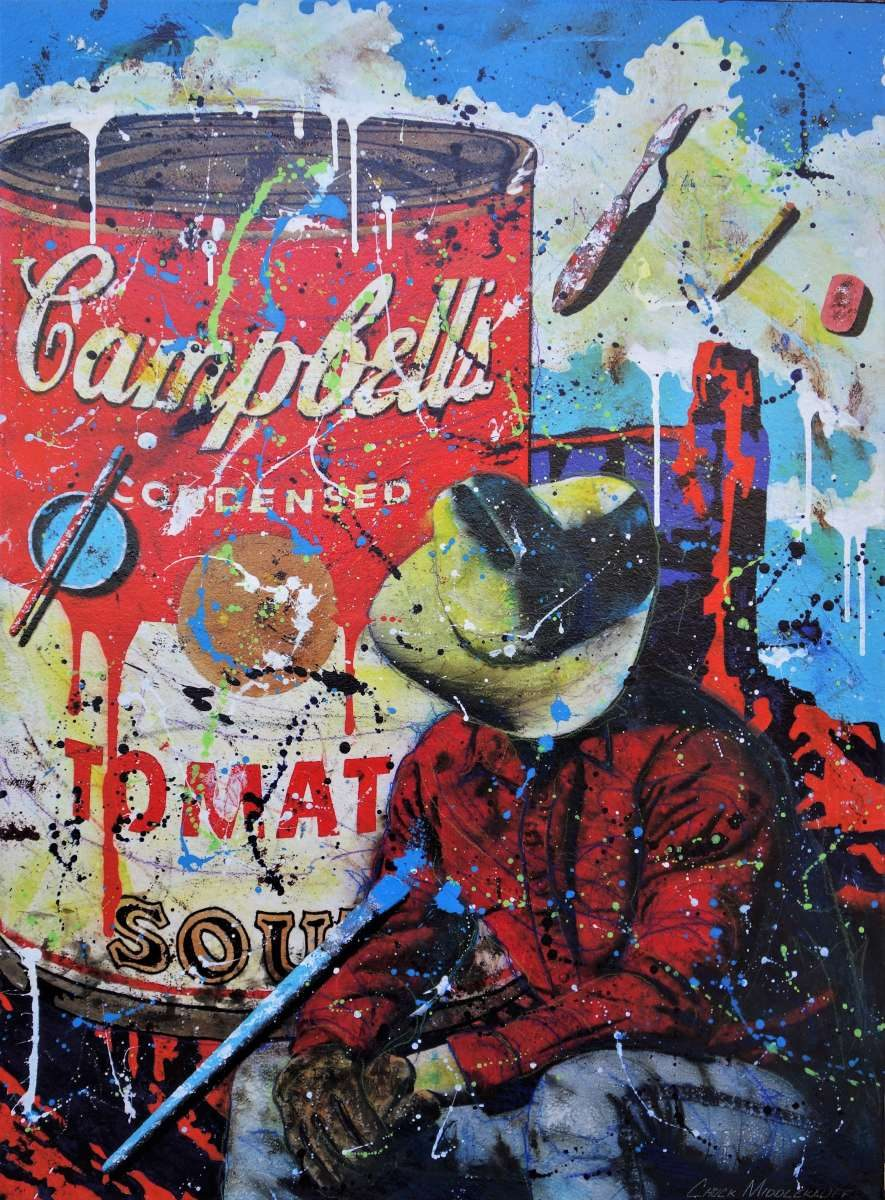 Canned 40 x 30 Water Media on Paper Mounted on Canvas $3,550